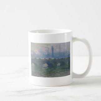 クロード・モネ著ウォータールー橋 コーヒーマグカップ