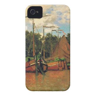 クロード・モネ著ザーンダムのボート Case-Mate iPhone 4 ケース