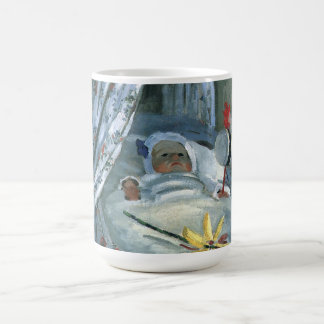 クロード・モネ著彼の揺りかごのジーンMonet コーヒーマグカップ