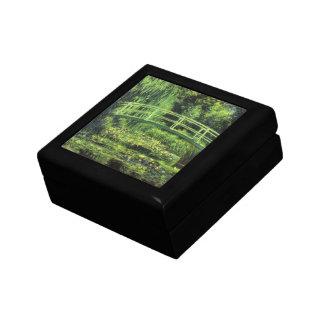 クロード・モネ著白い《植物》スイレン、ヴィンテージの芸術 ギフトボックス