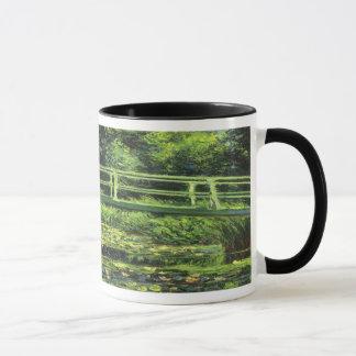 クロード・モネ著白い《植物》スイレン、ヴィンテージの芸術 マグカップ