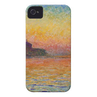 クロード・モネ著薄暗がりのサンジョルジョMaggiore Case-Mate iPhone 4 ケース