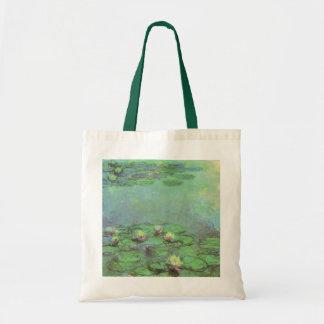 クロード・モネ著《植物》スイレン、ヴィンテージの印象主義 トートバッグ