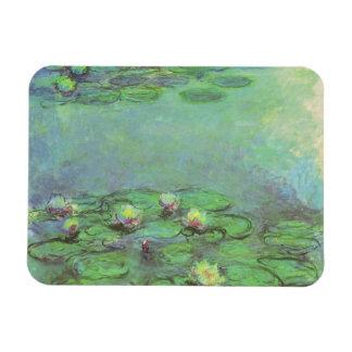 クロード・モネ著《植物》スイレン、ヴィンテージの印象主義 マグネット