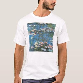 クロード・モネ著《植物》スイレン、ヴィンテージの印象主義 Tシャツ