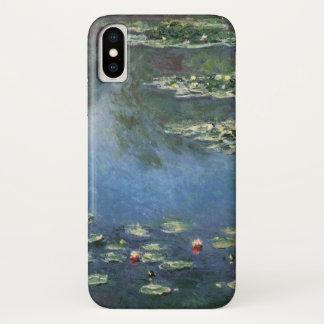 クロード・モネ著《植物》スイレン、ヴィンテージの花 iPhone X ケース