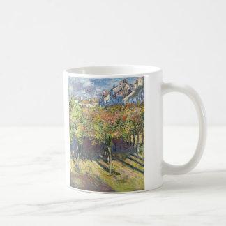 クロード・モネ著Poissyのシナノキ コーヒーマグカップ