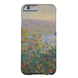 クロード・モネ著Vetheuilの花壇 Barely There iPhone 6 ケース