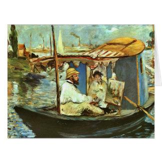 クロード・モネ1874年芸術家 カード