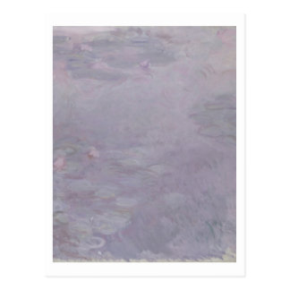 クロード・モネ の淡色の《植物》スイレン はがき