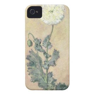 クロード・モネ の白いケシ1883年 Case-Mate iPhone 4 ケース