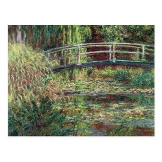 クロード・モネ|の《植物》スイレンの池: ピンクのHarmony 1900年 ポストカード