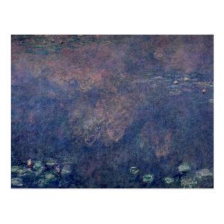 クロード・モネ|の《植物》スイレン: シダレヤナギの中心 ポストカード