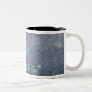 クロード・モネ の《植物》スイレン: 朝1914-18年 ツートーンマグカップ