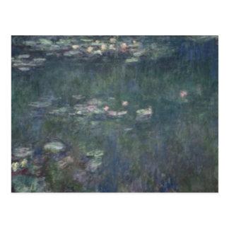 クロード・モネ|の《植物》スイレン: 緑の反射 ポストカード