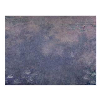 クロード・モネ|の《植物》スイレン: 2匹のシダレヤナギ ポストカード