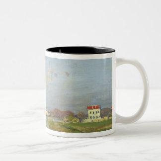 クロード・モネ|アルジャントゥーユ1873年のセーヌ河 ツートーンマグカップ