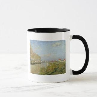 クロード・モネ|アルジャントゥーユ1873年のセーヌ河 マグカップ