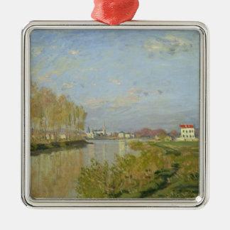 クロード・モネ アルジャントゥーユ1873年のセーヌ河 メタルオーナメント