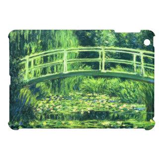 クロード・モネ: スイレンの池上の橋 iPad MINIケース
