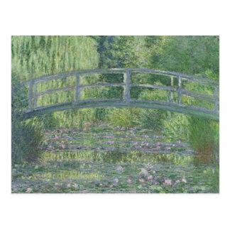 クロード・モネ| 《植物》スイレンの池: 緑の調和 ポストカード