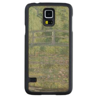 クロード・モネ| 《植物》スイレンの池: 緑の調和 CarvedメープルGalaxy S5スリムケース
