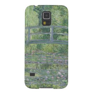 クロード・モネ| 《植物》スイレンの池: 緑の調和 GALAXY S5 ケース
