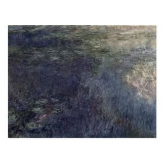 クロード・モネ| 《植物》スイレン雲1914-18年 ポストカード