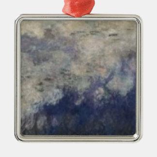 クロード・モネ| 《植物》スイレン雲1914-18年 メタルオーナメント