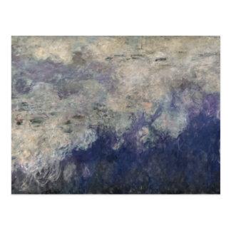 クロード・モネ| 《植物》スイレン雲1915-26年 ポストカード