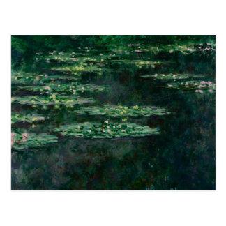クロード・モネ- 《植物》スイレン ポストカード