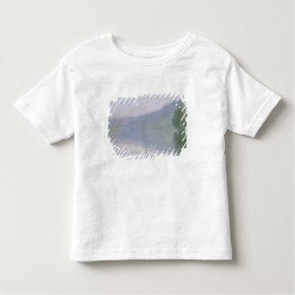 クロード・モネ|港Villez 1894年のセーヌ河 トドラーTシャツ