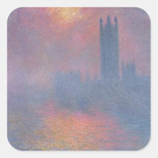 クロード・モネ|議会、ロンドンの家 スクエアシール