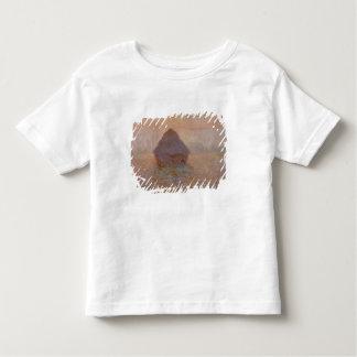 クロード・モネ| Grainstack、霧の日曜日 トドラーTシャツ