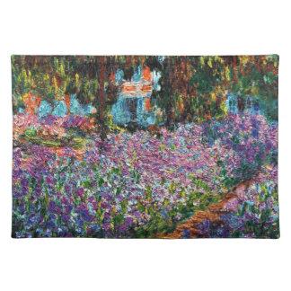 クロード・モネ: Monetの庭のアイリス ランチョンマット