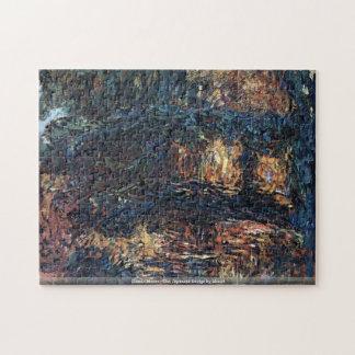 クロード・モネ- Monet著日本のな橋 ジグソーパズル