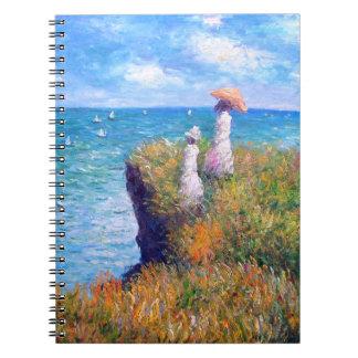 クロード・モネ: Pourvilleの崖の歩行 ノートブック