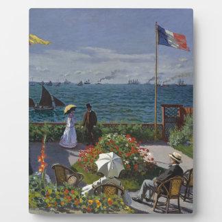 クロード・モネ- Sainte Adresseの芸術の庭 フォトプラーク