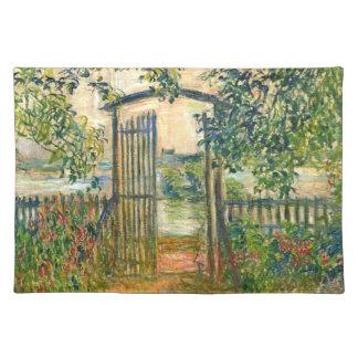 クロード・モネ: Vetheuilの庭ゲート ランチョンマット