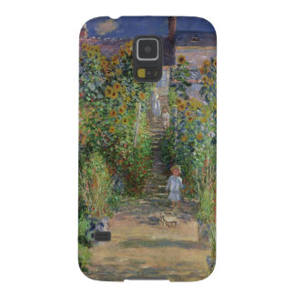 クロード・モネ| Vetheuilの芸術家の庭 Galaxy S5 ケース