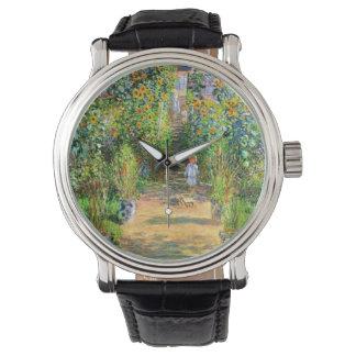 クロード・モネ: VétheuilのMonetの庭 腕時計