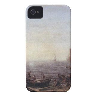 クロード・ロラン著日の出の海港 Case-Mate iPhone 4 ケース