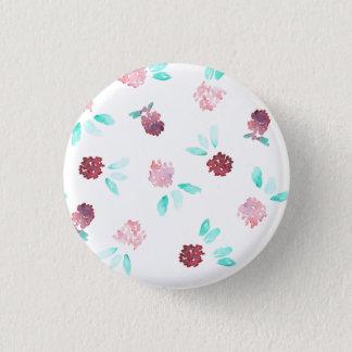 クローバーによっては小さい円形ボタンが開花します 3.2CM 丸型バッジ