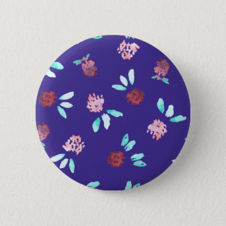 クローバーによっては標準的な円形ボタンが開花します 5.7CM 丸型バッジ