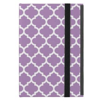 クローバーのアフリカバイオレットの紫色 iPad MINI ケース