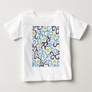 クローバーの渦巻 ベビーTシャツ
