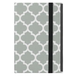 クローバーの銀製灰色 iPad MINI ケース