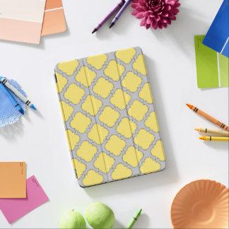 クローバーの黄色および灰色 iPad AIR カバー