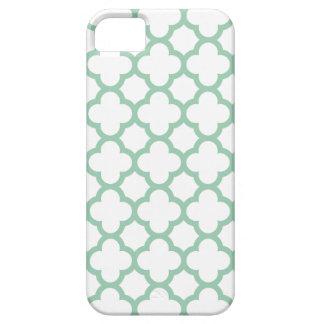 クローバーのiPhone 5/5Sの場合\アメリカツガの緑 iPhone SE/5/5s ケース