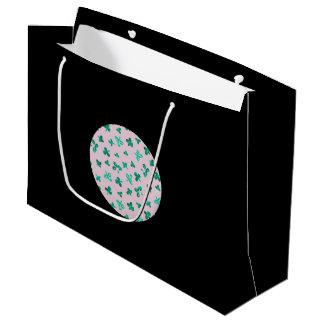 クローバーは大きい光沢のあるギフトバッグを去ります ラージペーパーバッグ